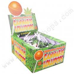Cannabis Lollipop Bubble Gum x Orange Bud