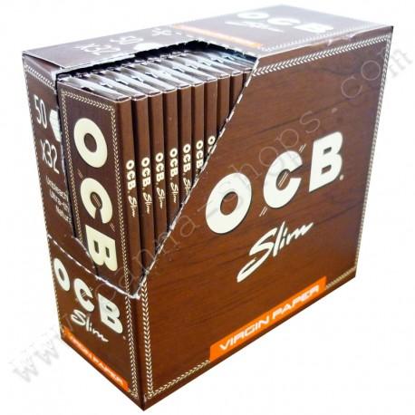 OCB slim Virgin paper Boite