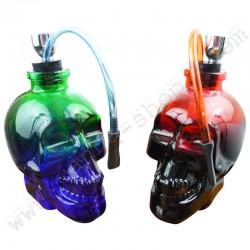 Bang en verre Skull