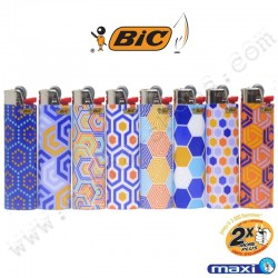 Briquet Bic Maxi Hexagonal
