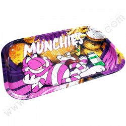 Munchies XL Metal Rolling Tray