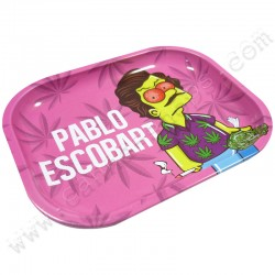 Metal Rolling Tray Pablo Escobart