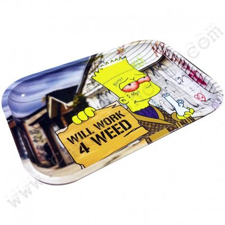 Metal Rolling Tray WW4W XL