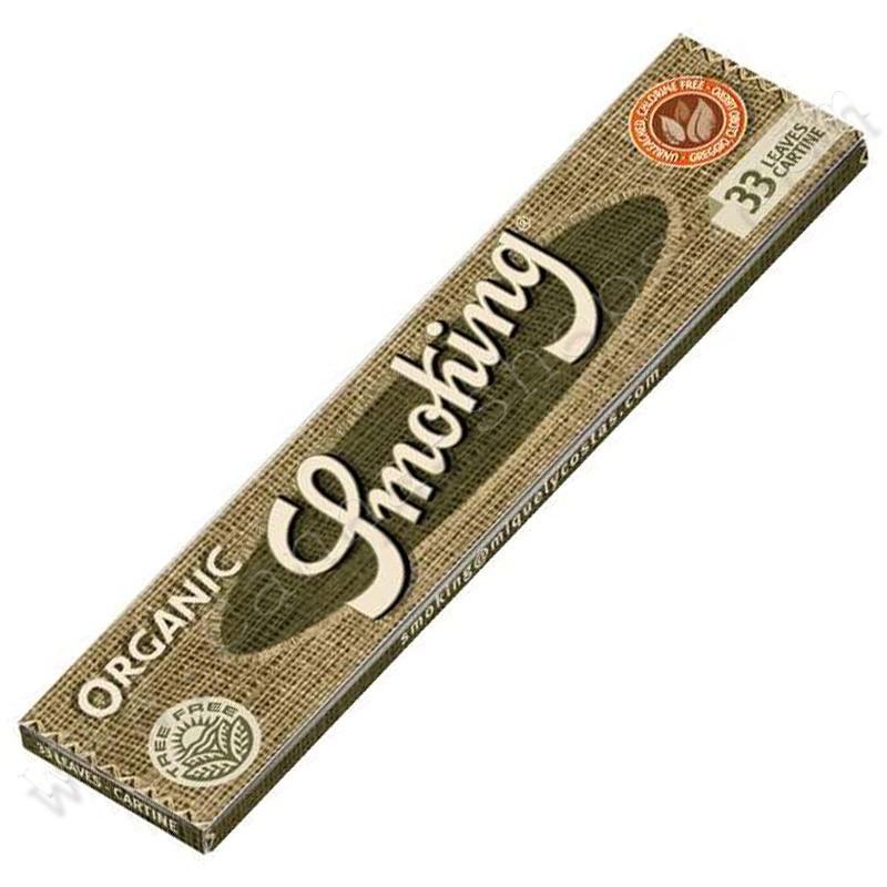 Feuilles Smoking Organic