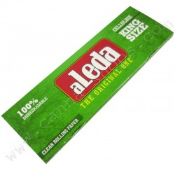 Aleda rolling papers is fully transparent made in brazil