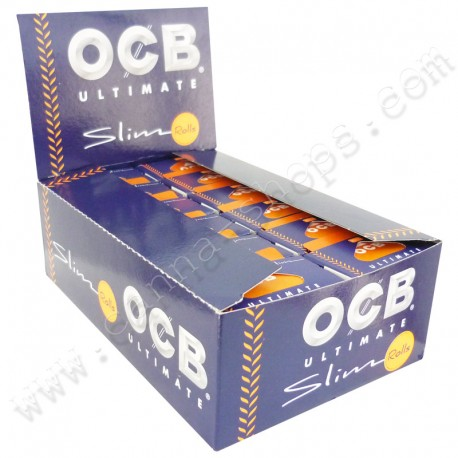 Feuilles OCB ultimate Rolls Boite