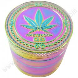 Grinder Rainbow Grace Glass Amsterdam 40mm