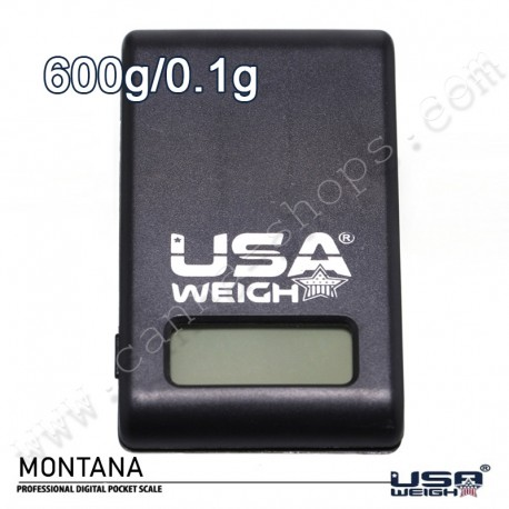 Precision scale that easily fits in a pocket