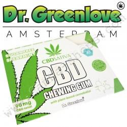 Chewing-gum CBD 10mg