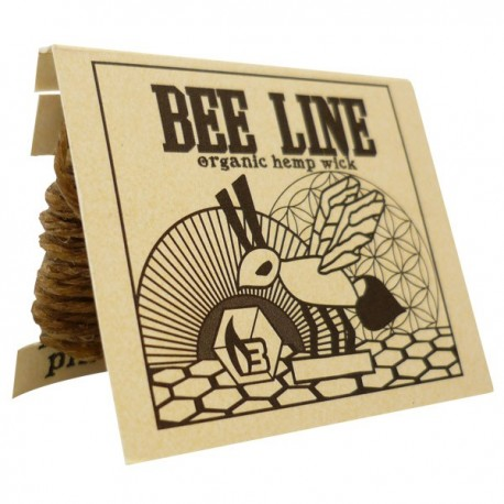 Hemp wick bee line is a natural and organic product