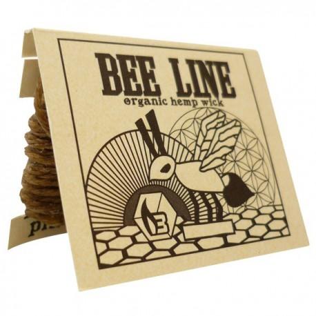 Hennep wick bee line is een natuurlijk en biologisch product