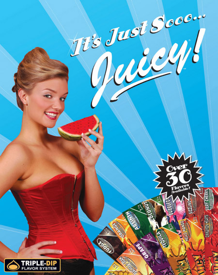 Juicy Jays papiers aromatisés