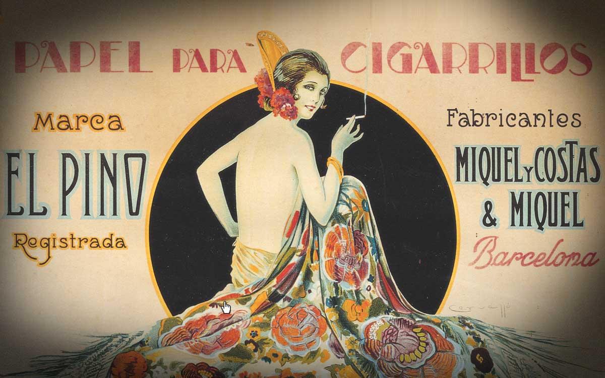 création du papier Smoking