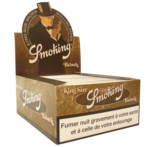 Feuilles smoking brown